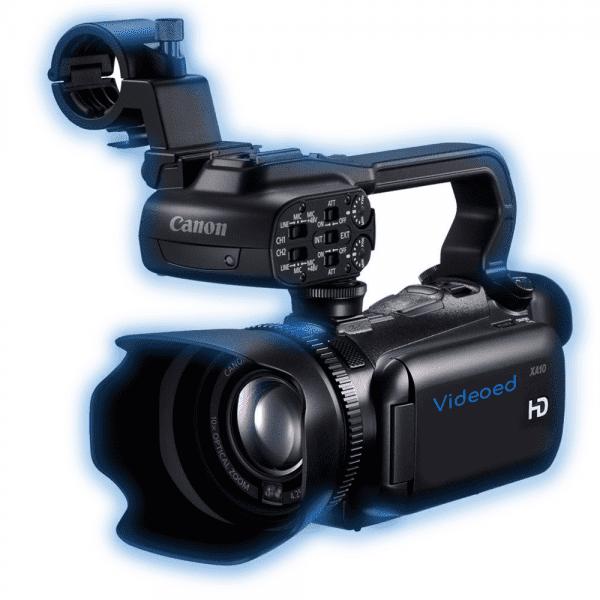 Canon XA 10 hire and rental