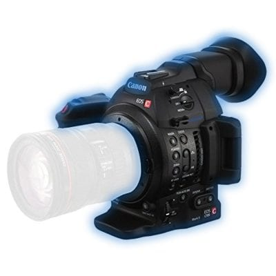 canon c100 mike hire rental