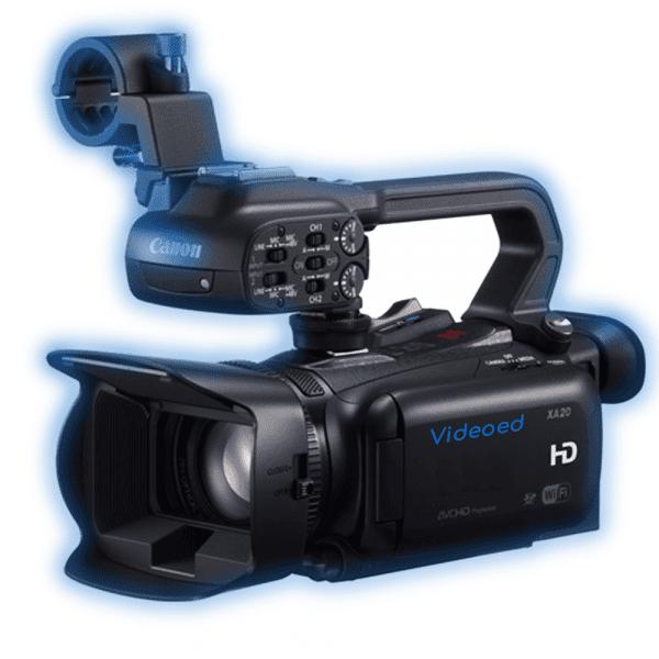 Canon xa20 hire rental