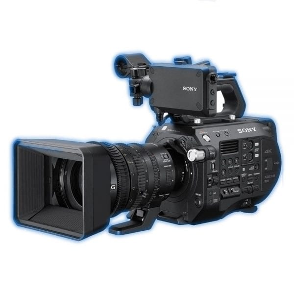 sony fs7 mkii hire