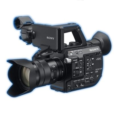 sony fs5k mkii hire rental