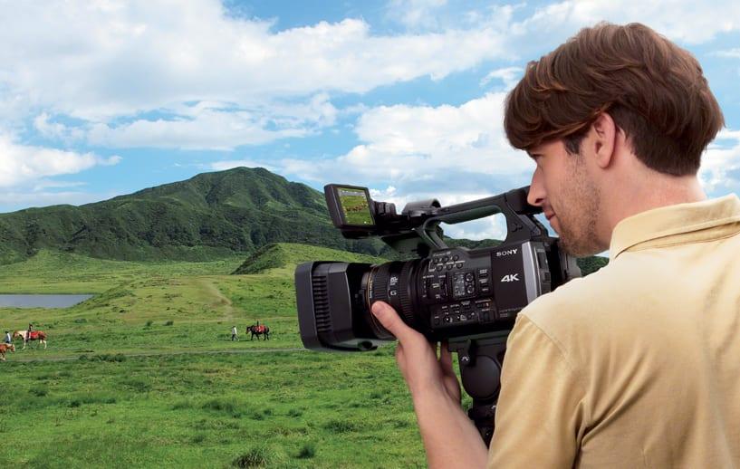 sony fixed lens video camera hire